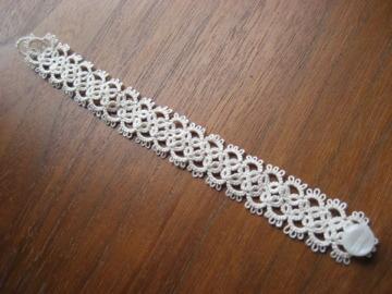 bracelet クロスオフホワイト