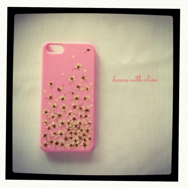 iPhone ケース ピンク コデマリ