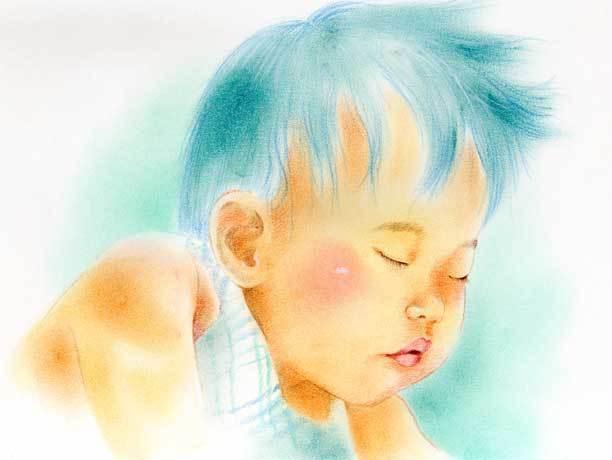 オーダーメイド パステルカラー似顔絵(送料無料)