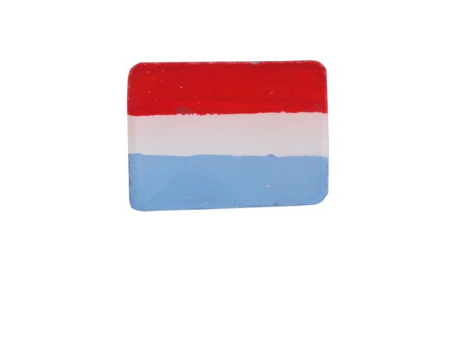 オランダ国旗のブローチ