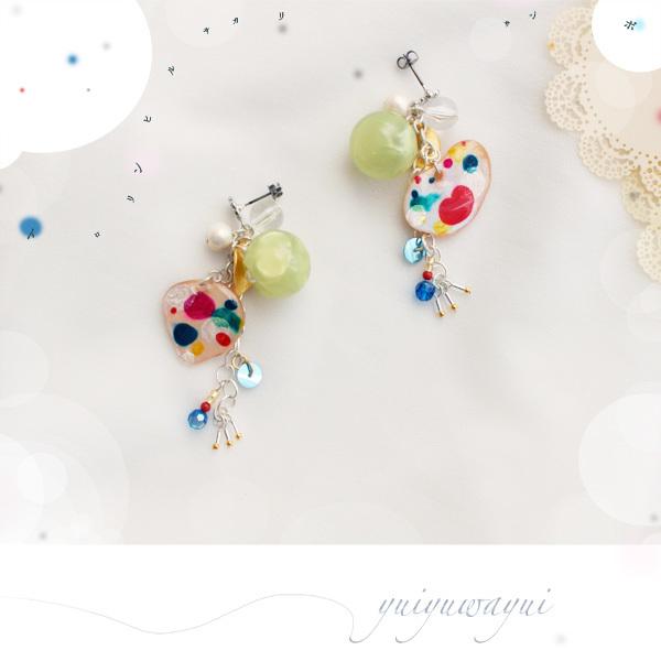 トロリンヒルサガリサンポの耳飾り*(3)