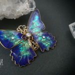 オーロラの妖精蝶ブローチ(Brooch of Aurora fairy butterfly)