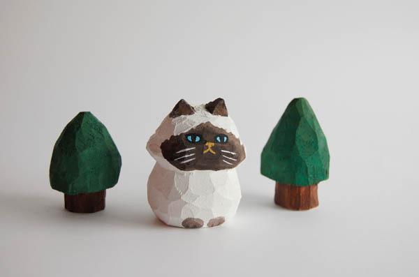 木彫り人形 ペルシャ ポイント種 [MWF-027]