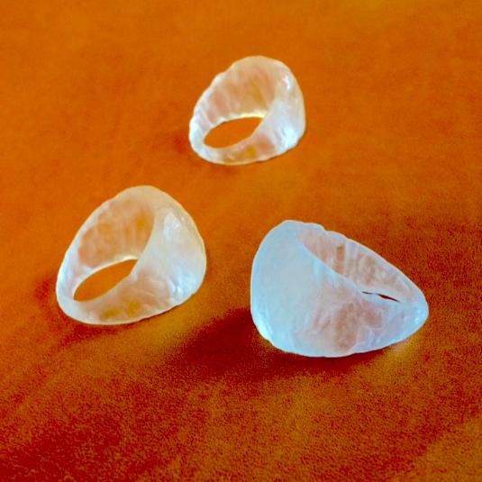 氷の指輪   (受注製作)