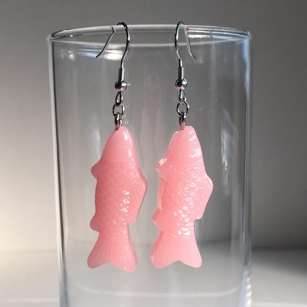 魚ピアス(pink)