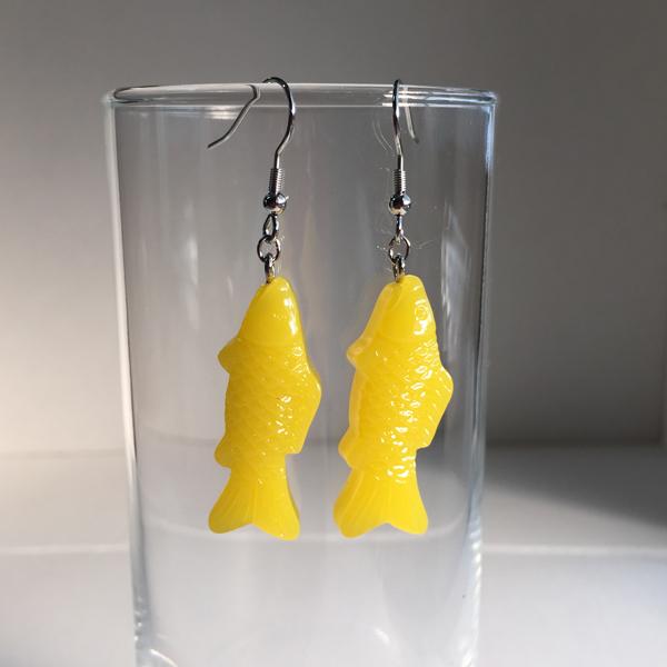 魚ピアス(yellow)