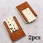 【woos3682chmm】【2個】wood charm