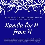 Kamila for H from H