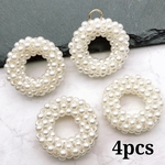 【chmm3690pprr】【4pct】volume pearl ring parts