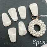 【cbtt3691acrc】【6pct】seashell style resin cabochon