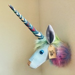 ANIMAL TROPHY Unicorn(M.size)