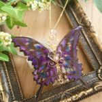 命の蝶のネックレス~Judgment Day Purple~(Necklace of 「life of butterfly」〜Judgment Day Purple〜)