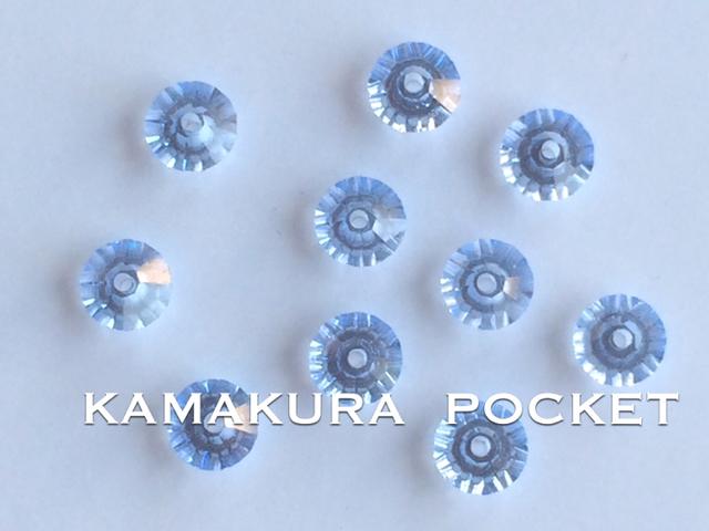 スワロフスキー#5305 5mm ライトサファイア20個