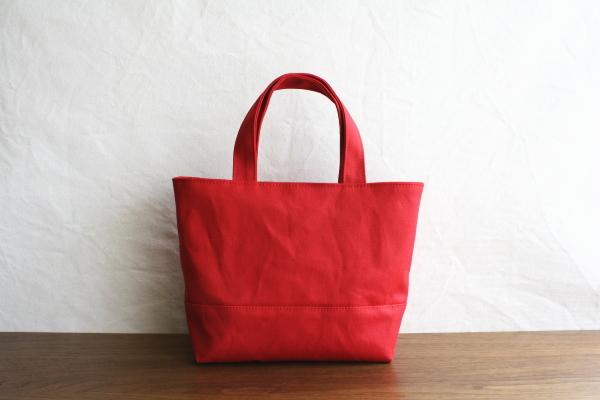 イチゴ 倉敷帆布使用トートS