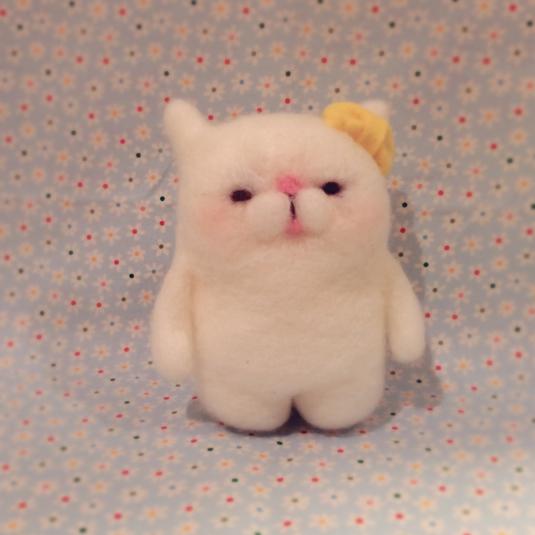 羊毛猫さん人形大きいほう