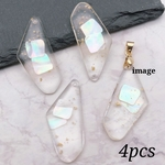 【chmm3710acrc】【4pct】clear resin charm