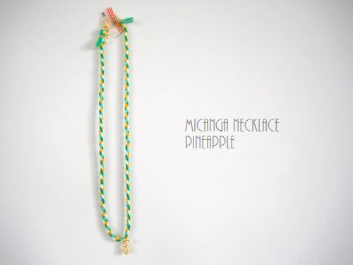 MICANGA NECKLACE PINEAPPLE