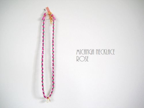MICANGA NECKLACE ROSE