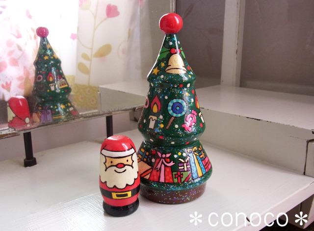 Bタイプ☆X'mas☆マトリョーシカ・クリスマスツリー*