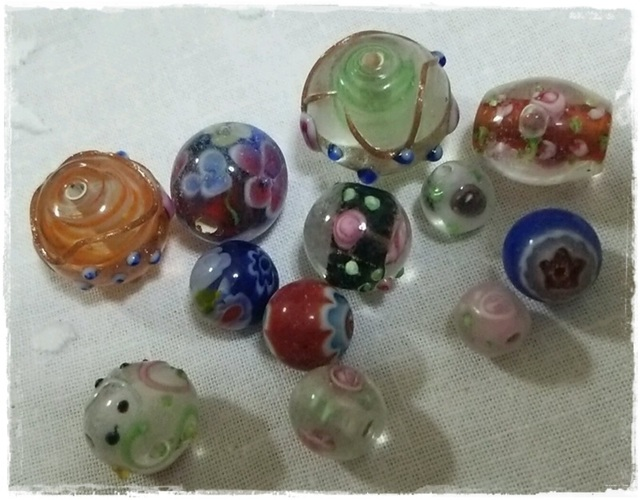☆超特価☆ガラスとんぼ玉 セット