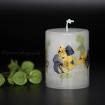Botanical Candle 「Viola」