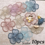 【sntn3727chmm】【5color 10pct】lace flour parts