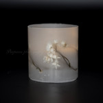 「Winged Everlasting」 Botanical candle holder