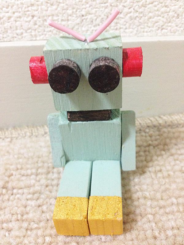 木製ロボット スモールサイズ