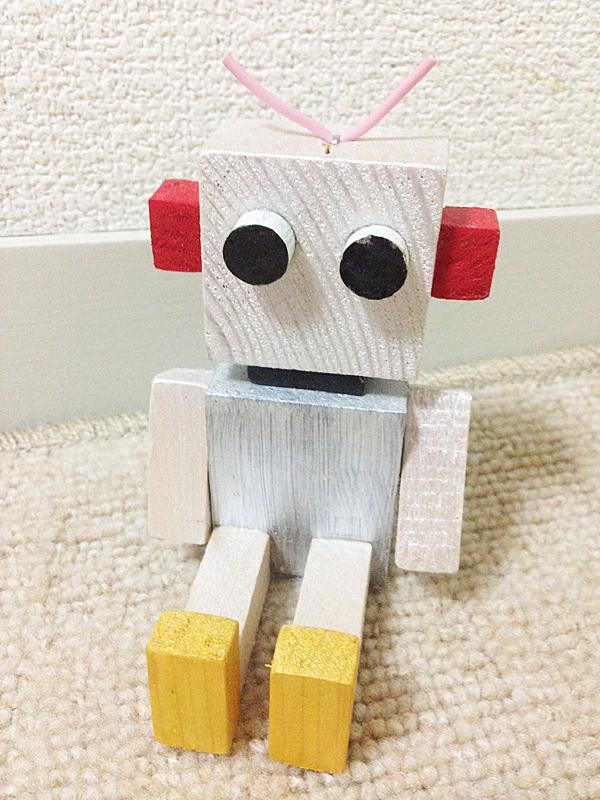 木製ロボット Mサイズ