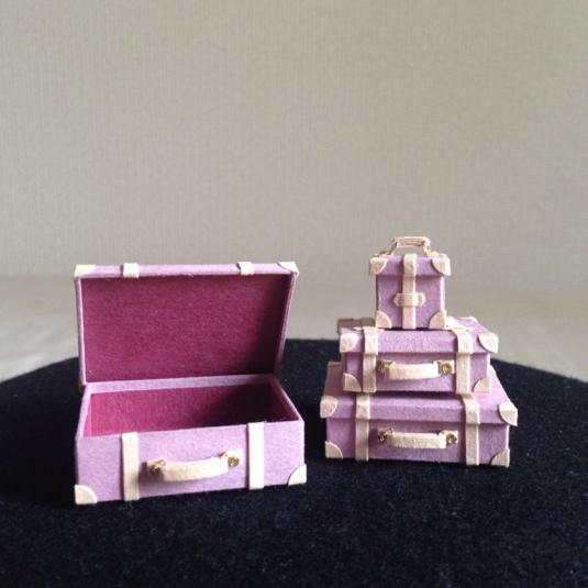 トランク4個セット*薄紫