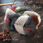 ‪ꫛꫀꪝ✽ONION COWL✽Unisex【Multi Earth Color-Magpie-】Royal Baby Alpaca & Wool de ふわふわ優しいカウル/スヌード