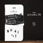「BROOKLYN」Original手帳型iPhoneケース