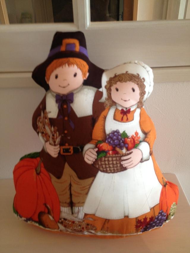 かぼちゃ畑のクッション