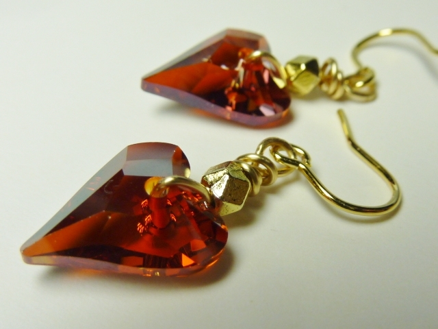 【18kgf】Swarovski Wild Heart Earrings