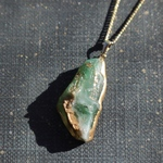 Fake mineral necklace ~jade~