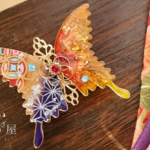 夢巫女の蝶バレッタ(hair ornaments of butterfly 〜dream Shrine maiden〜)