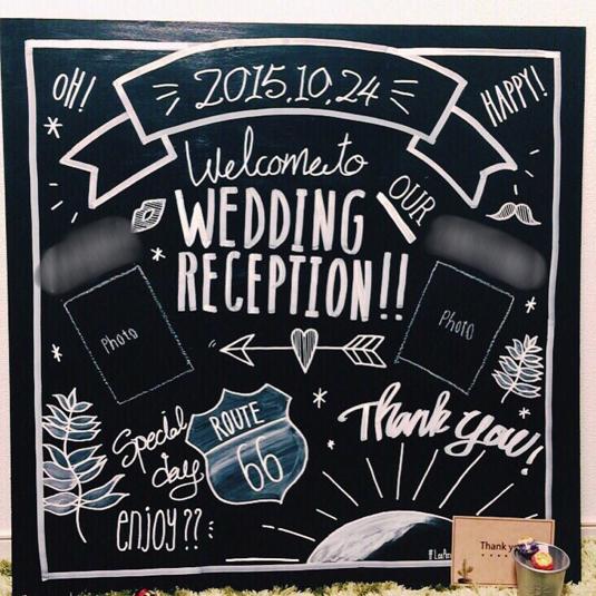 お急ぎの方\u203bウェルカムボード ウェディングアイテム 結婚式 黒板