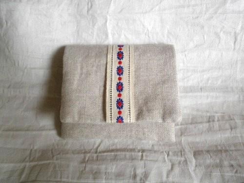 mini  purse pouch ( beige )