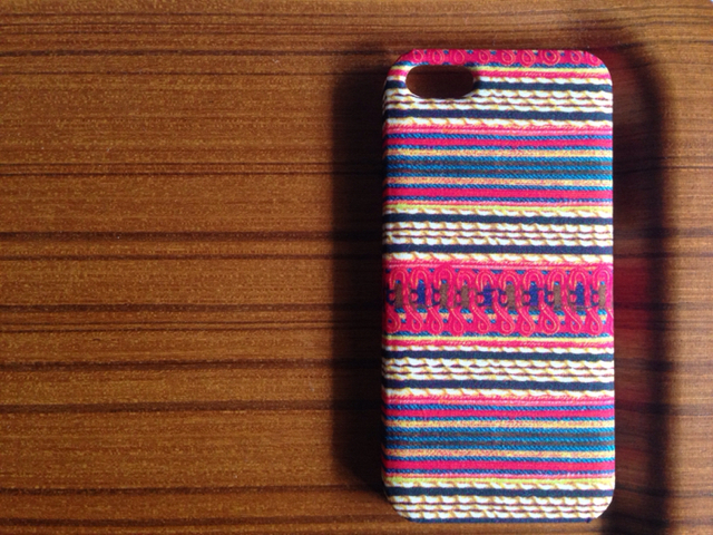 *iPhone5/5s6/6s*The Braided Brocade*RD*iphone*横*リバティ*カバー*ケース