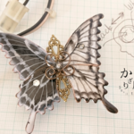 命の蝶のバレッタ ~クオリア逆転〜(hair ornaments of「life of butterfly」〜Qualia reversal〜).