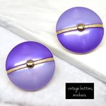 PURPLE(2pcs)vintage buttons