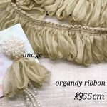 【tasl3751sntn】【約55㎝】Organdy ribbon