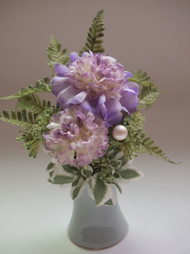 sawa-ya ~ スカビオサの仏花アレンジメント