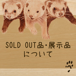 SOLD OUT品・展示品について