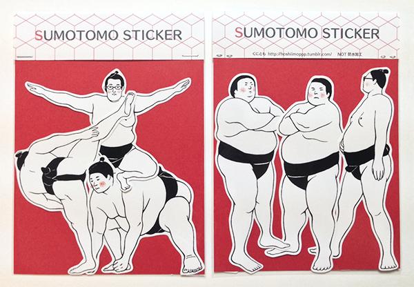 OSUMO STICKER(RED)