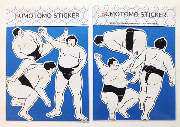 OSUMO STICKER(BLUE)