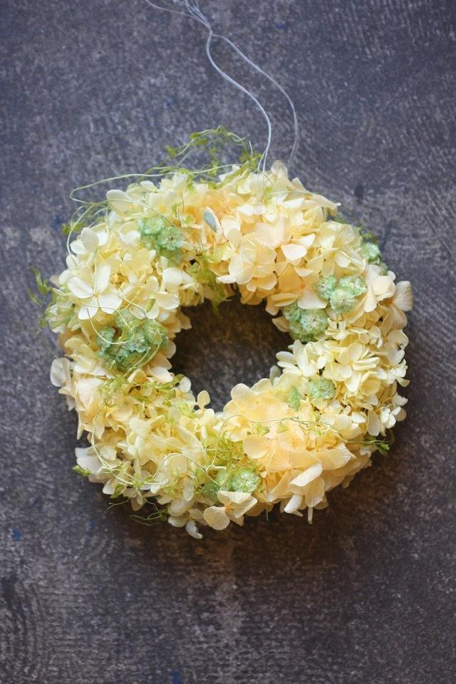 cream color Wreath
