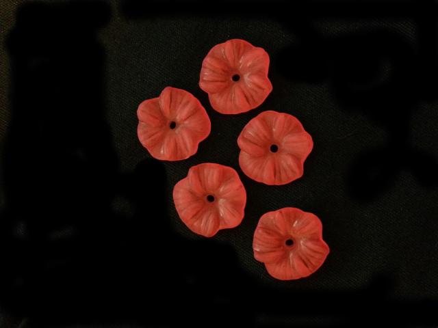 アロハアンティークボタン「ハイビスカス」3個セット
