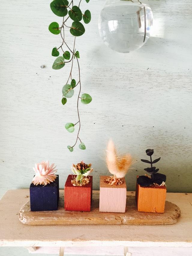 ☆小さな小さなちーさな植木鉢*オータムセット
