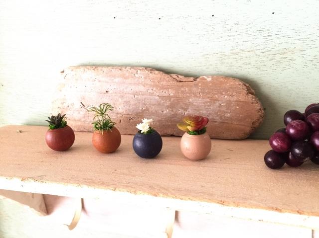 コロコロ植木鉢 オータムカラー